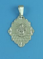 Holy Child of Atocha Sterling Silver Medal