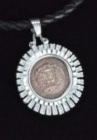 1876-1976 Republica Dominicana Coin Necklace